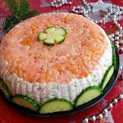 Remarkable Smoked Salmon Appetizer Cake Foodgawker Birthday Cards Printable Opercafe Filternl