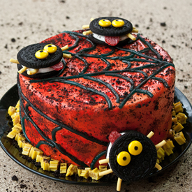 Twizzler And Oreo Cake