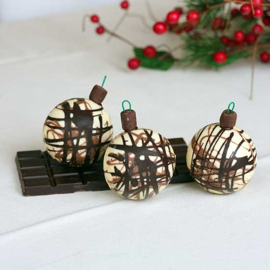 chocolate christmas decorations gallery | foodgawker