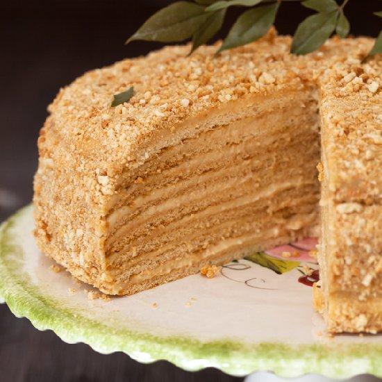 Vegan russian honey cake recipe