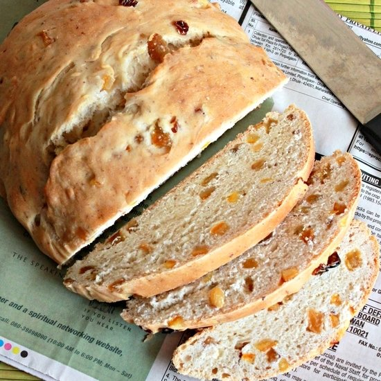 julekake, norwegian christmas bread | foodgawker