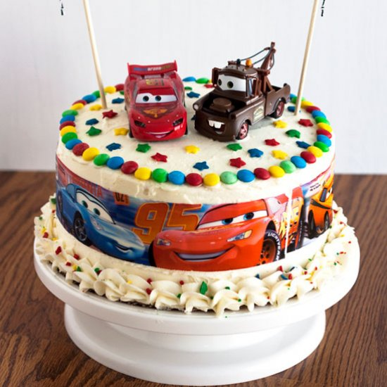 Triple Layer Cake Gallery