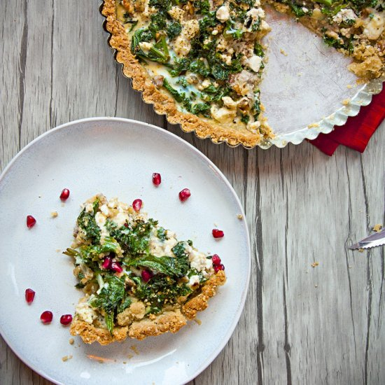 Vegetarian pie gallery foodgawker green kale feta gluten free pie forumfinder Choice Image