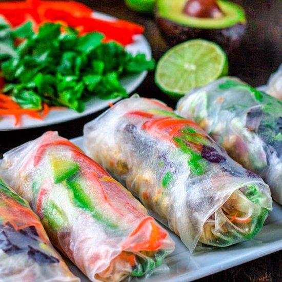 salad rolls gallery foodgawker
