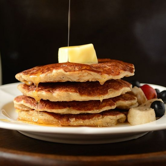 ... Oatmeal Cottage Cheese Buttermilk Pancakes