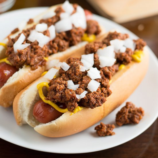 Easy Homemade Hot Dog Chili