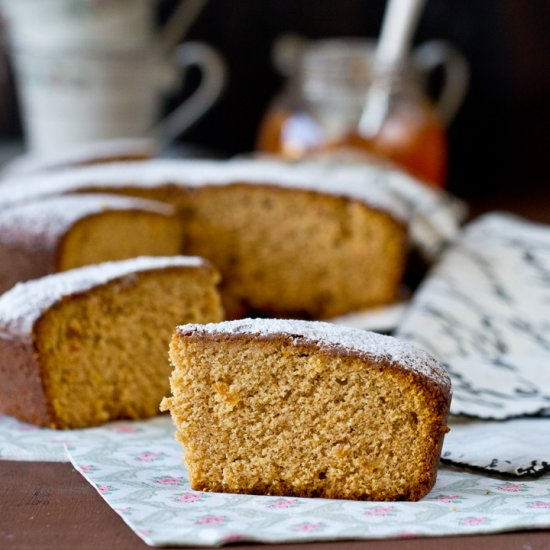Orange Marmalade Tea Cake
