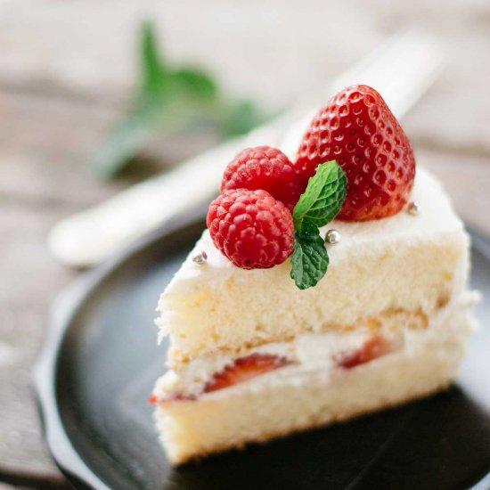 Superb Japanese Birthday Cake Foodgawker Personalised Birthday Cards Rectzonderlifede