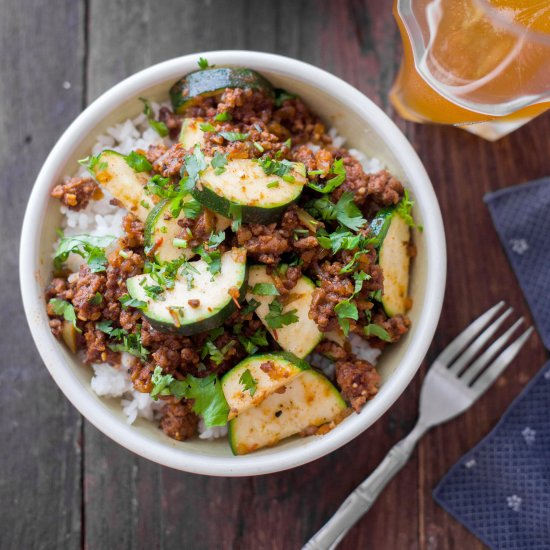 Dinner in 30 minutes gallery foodgawker zucchini beef skillet recipe forumfinder Images