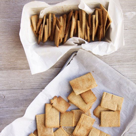 Fall-Inspired Graham Crackers