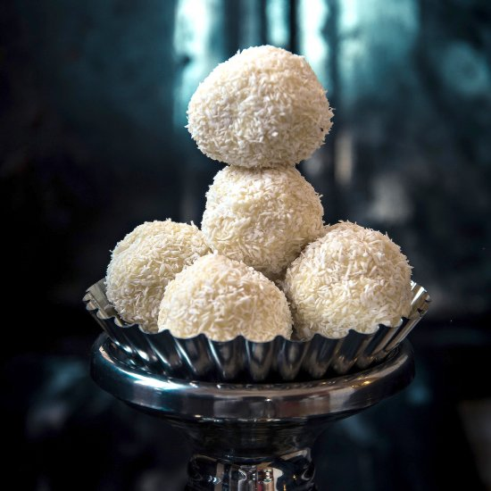Coconut Chocolate Balls Without Condensed Milk