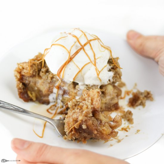 Super Easy Apple Crisp