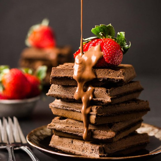 Gluten Free Chocolate Teff Waffles Foodgawker