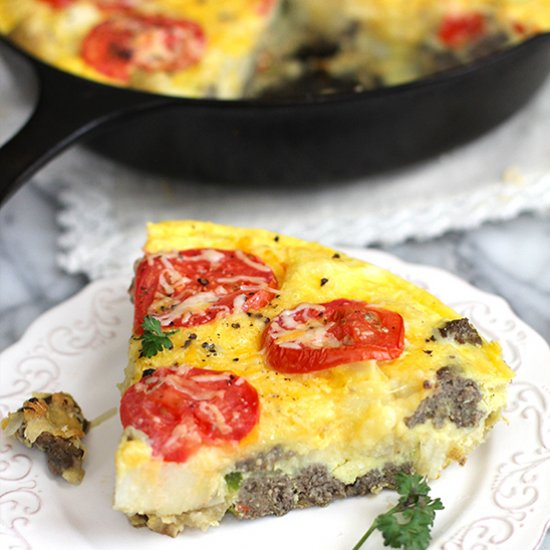 Sausage Potato Breakfast Frittata