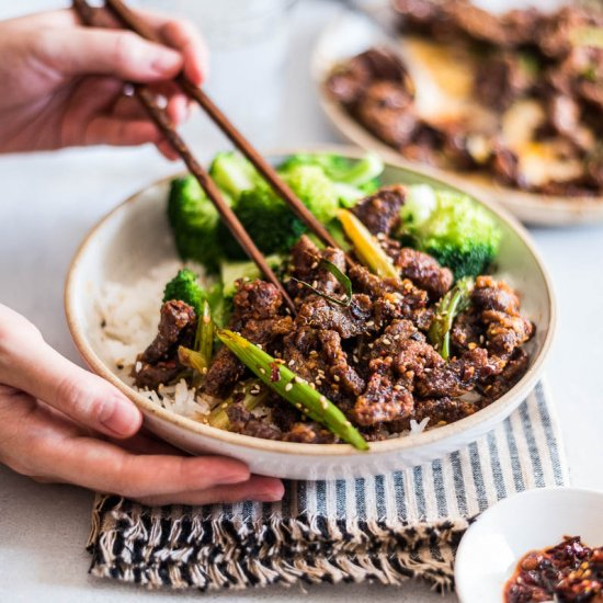 4-Ingredient Sichuan Crispy Beef