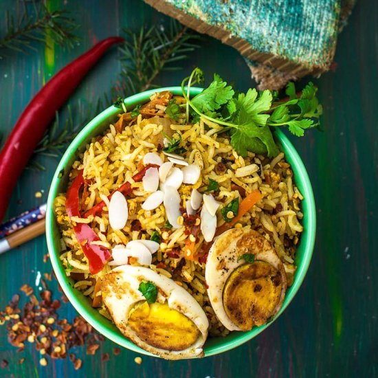 Egg biryani gallery foodgawker indian style triple egg fried rice forumfinder Choice Image