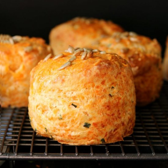 Cheese Scones with Chives