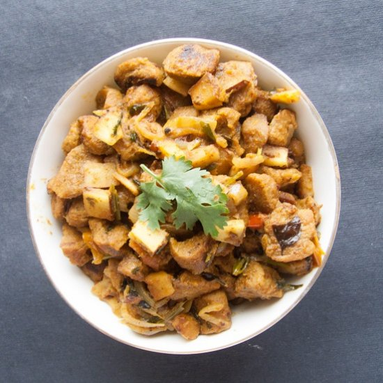 Soya chunks gallery foodgawker soya chunks masala recipe forumfinder