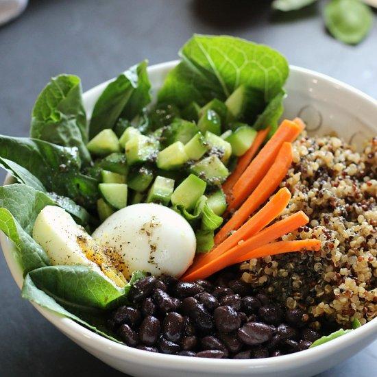Protein Power Salad Jar