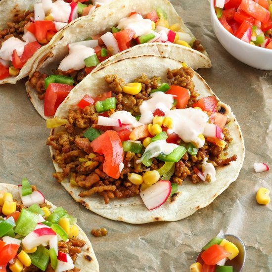 Curry Beef Tacos