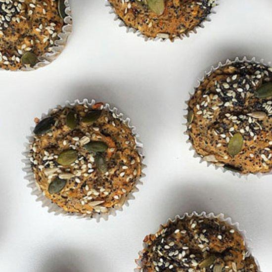 Gluten Free Seed Buckwheat Muffins