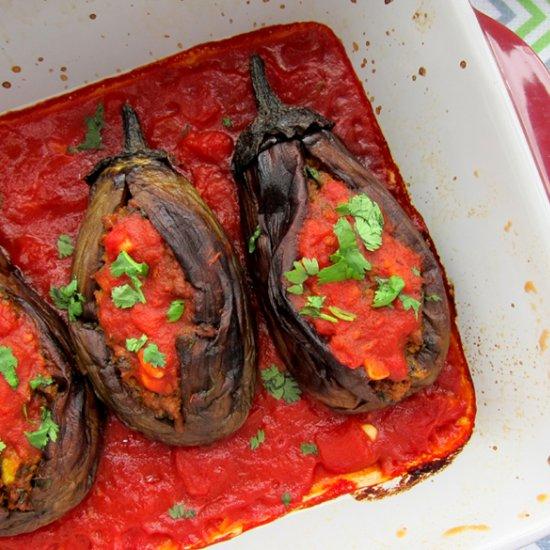 Persian Stuffed Eggplant