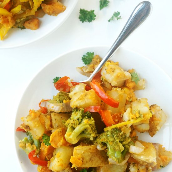 Vegan Breakfast Potato Hash