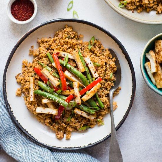 Red Curry Quinoa