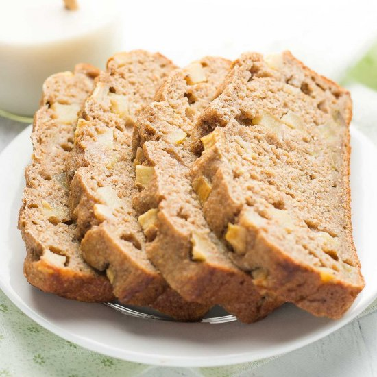 Healthy cinnamon apple banana bread foodgawker healthy cinnamon apple banana bread forumfinder Image collections