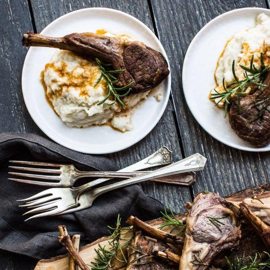 ... Instant Pot Lamb Chops