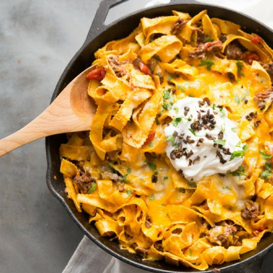 Skillet Beef and Noodles