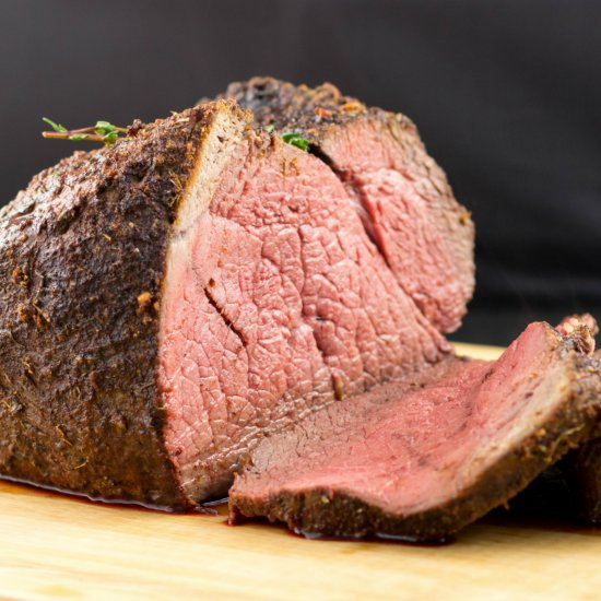 Easy Sirloin Roast with Herb Rub