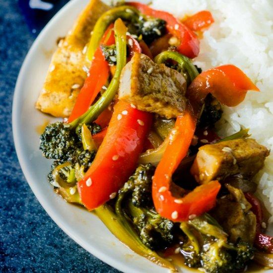Vegan dinner quick dinner recipes gallery foodgawker email teriyaki tofu forumfinder Images