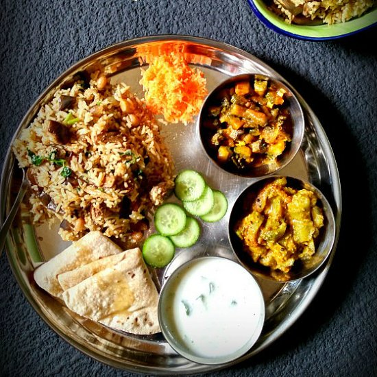 Thali gallery foodgawker south indian vegetarian lunch menu forumfinder Images