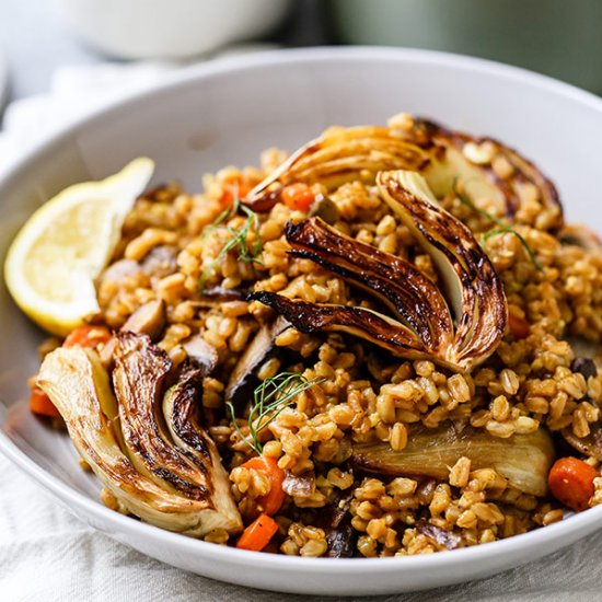 Healthy dinner recipes gallery foodgawker email farro risotto forumfinder Images