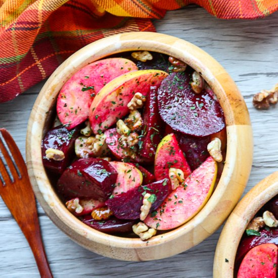 Beet recipes gallery foodgawker roasted beet and apple salad forumfinder