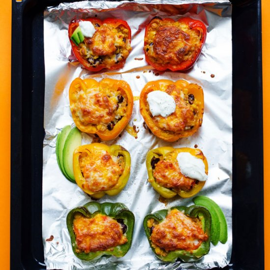 Vegetarian recipes gallery foodgawker email enchilada stuffed peppers forumfinder Images
