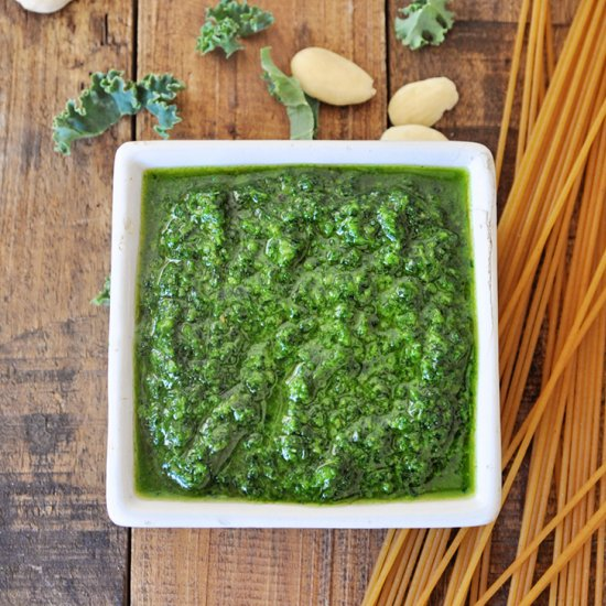 Pesto recipe gallery foodgawker vegan pesto with kale forumfinder