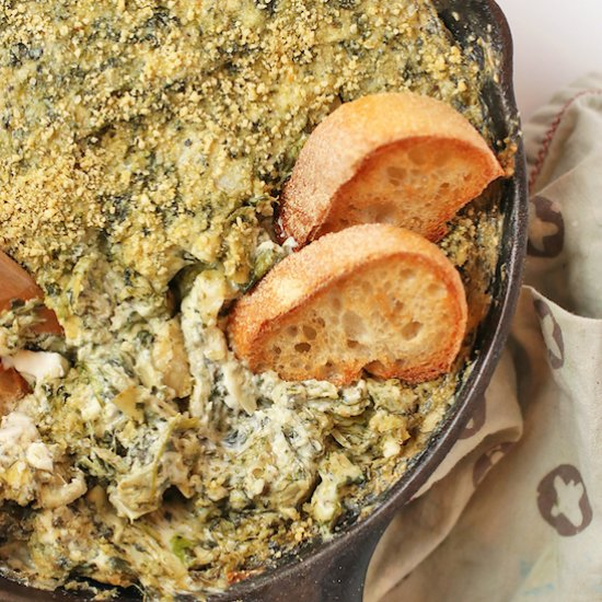 Party food gallery foodgawker vegan spinach artichoke dip forumfinder