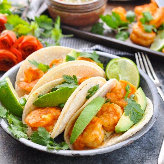 Healthy dinner gallery foodgawker sheet pan shrimp tacos forumfinder Images