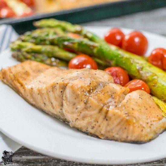 Dinner gallery foodgawker balsamic glazed salmon w asparagus forumfinder Images