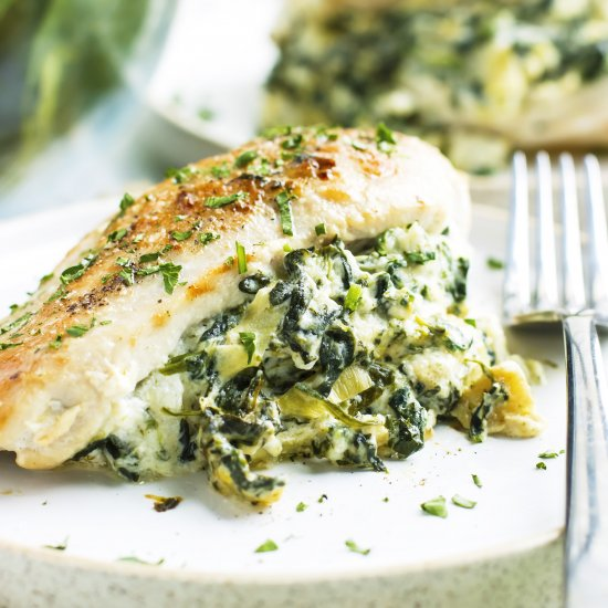 Dinner gallery foodgawker spinach artichoke stuffed chicken forumfinder Images