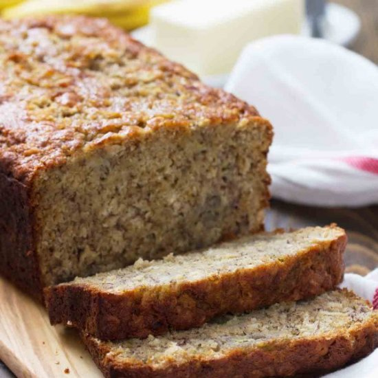 Banana bread recipe gallery foodgawker banana oat bread forumfinder Image collections