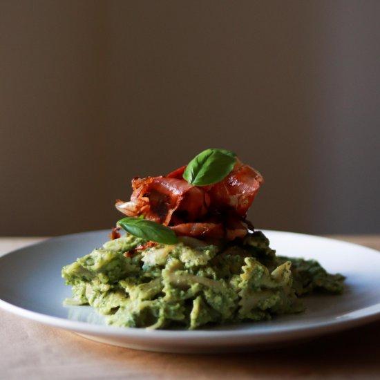 Foodgawker feed your eyes page 4 creamy avocado pesto pasta forumfinder Image collections