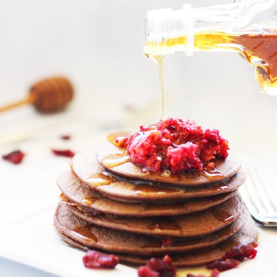Foodgawker feed your eyes dark chocolate protein pancakes forumfinder Gallery