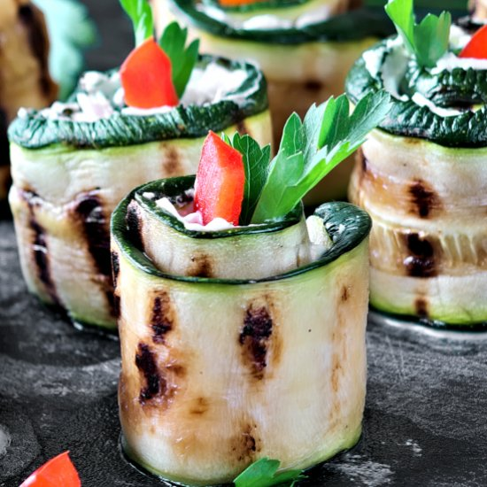 Vegetarian recipes gallery foodgawker grilled zucchini roll ups forumfinder Choice Image