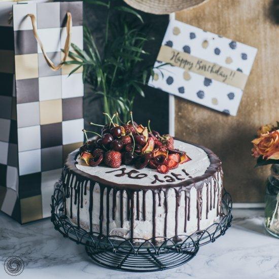 Wondrous Summer Bday Cake Foodgawker Personalised Birthday Cards Cominlily Jamesorg