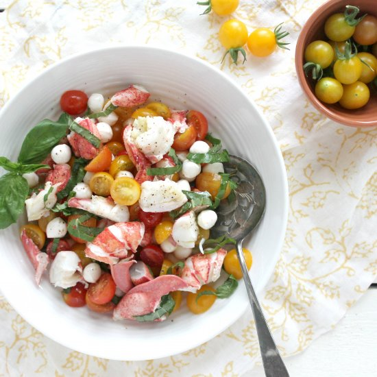 Lobster Caprese Salad Recipe
