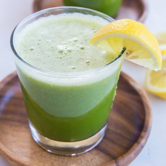 Good Digestion Celery Juice - The Roasted Root