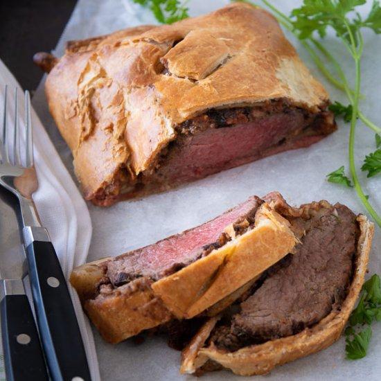 perfect beef wellington